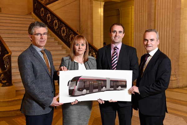 Belfast rapid Transit contract announcement