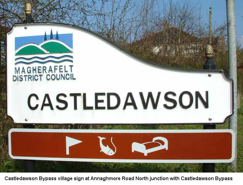Castledawson village sign