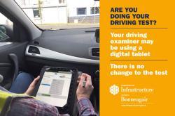 DVA Driving Test Tablet