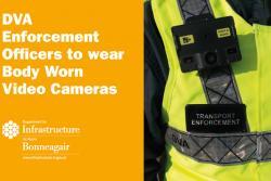 DVA Enforcement Officer Body Camera image