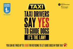 Guide Dogs in Taxis