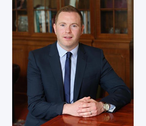 Infrastructure Minister Chris Hazzard MLA