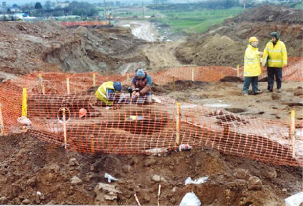 Excavation at Killane