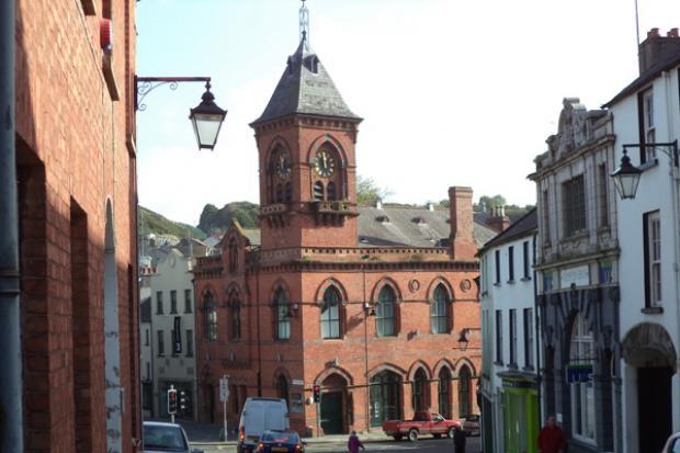 A street in Downpatrick