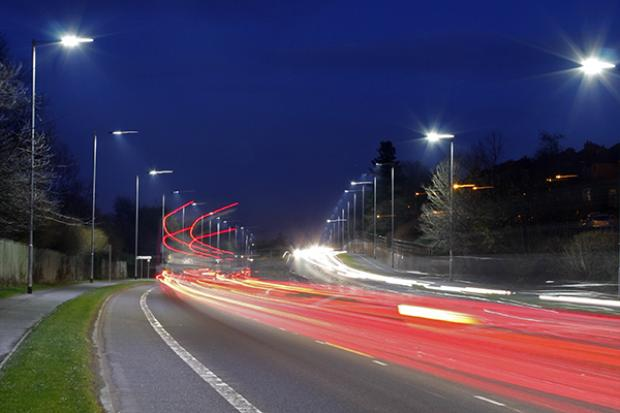 Moving traffic - Knock Road Belfast & Hazzard invests in new LED street lighting in Belfast city centre ... azcodes.com