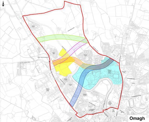 Strathroy Link Road scheme context plan