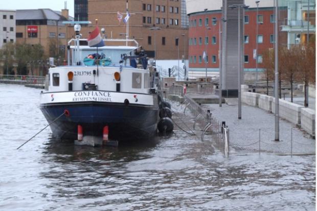 Belfast Tidal flood alleviation scheme image
