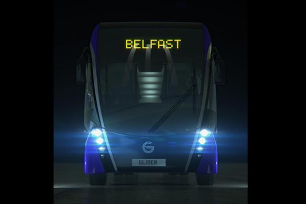 BRT - Glider - front view