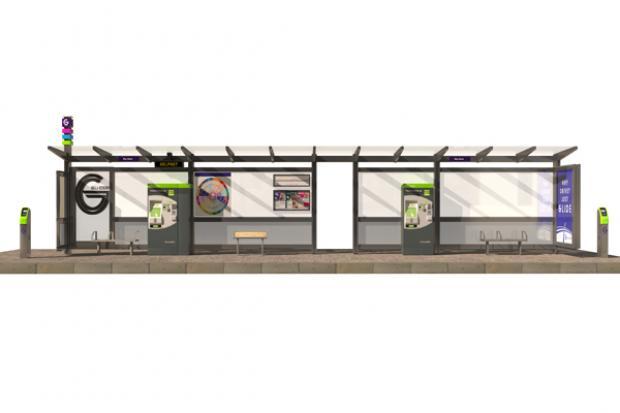 BRT - Glider halt