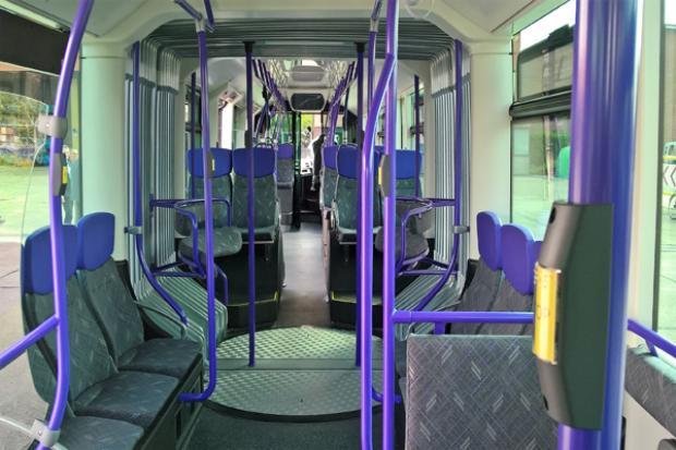 BRT - Glider interior