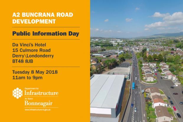 Information Event - Buncrana Road