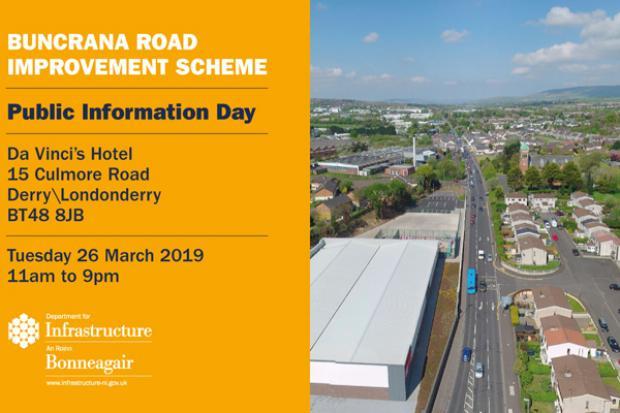 A2 Buncrana Road - Public Information event March 2019