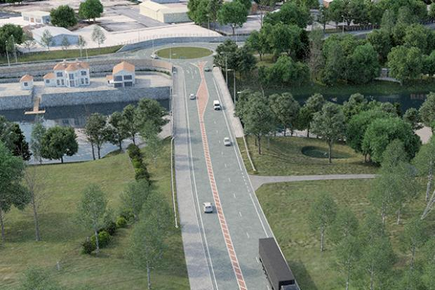 A4 Enniskillen Bypass - proposed image