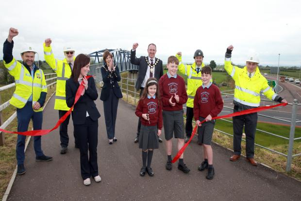 Official opening of A6 Randalstown to Castledawson Dualling Scheme