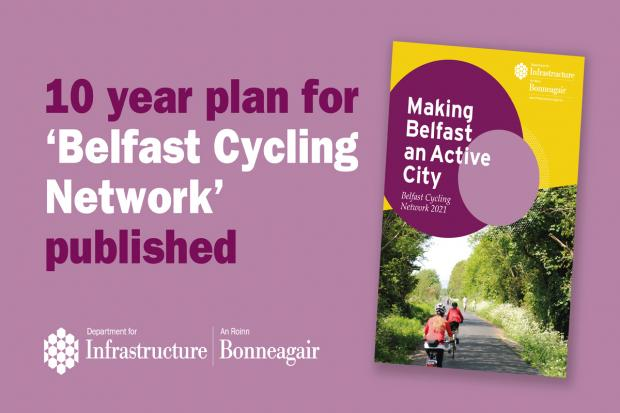 Belfast Cycle Network graphic