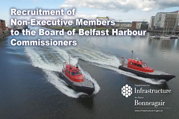 Belfast Harbour Commissioners recruitment launch 2020