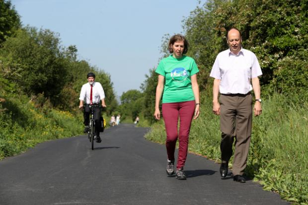 Comber Greenway improvements completed