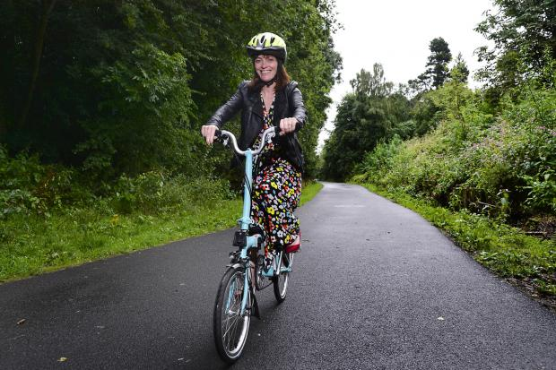 Image for Ministerial launch of Consultation on lighting Comber Greenway