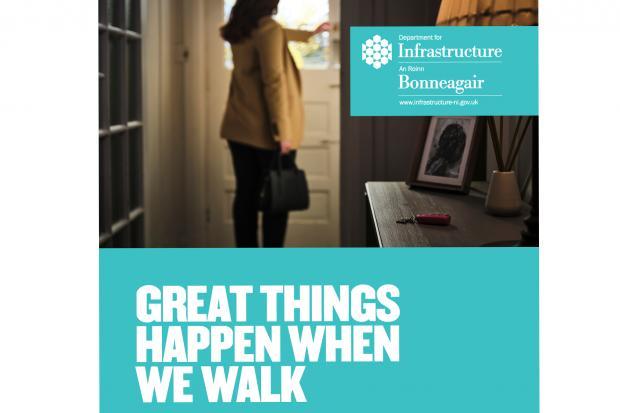 DfI pedestrian campaign image