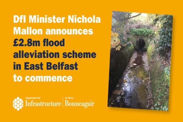 Graphic for East Belfast Flood Alleviation Scheme