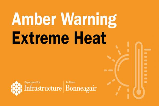 Weather warning for extreme heat