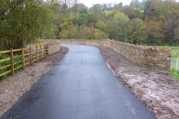 Image of Glenrandel bridge after renovation