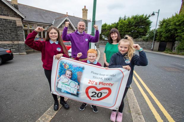 20mph speed limit scheme phase 2 Greyabbey