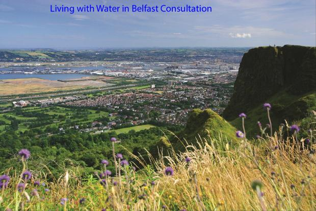 Living with Water in Belfast Consultation - Image of Belfast