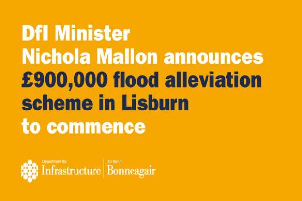 Graphic for Lisburn Flood Alleviation Scheme