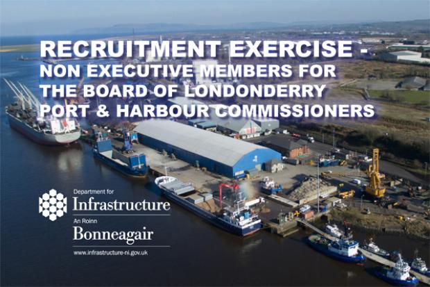Recruitment competition for Londonderry Port and Harbour Commissioners