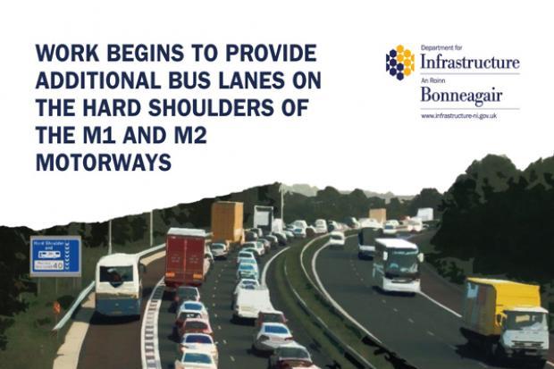 M1 an M2 Bus lanes - image