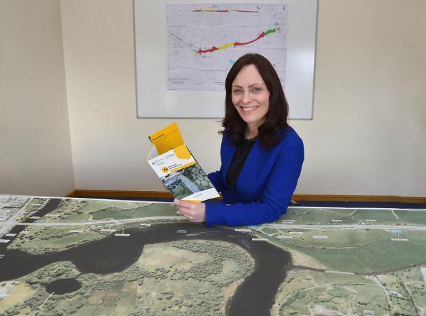 Minister Mallon - Enniskillen Southern Bypass Scheme