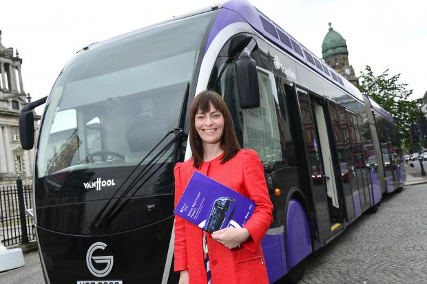 Minister Mallon launches Belfast Rapid Transit Phase 2