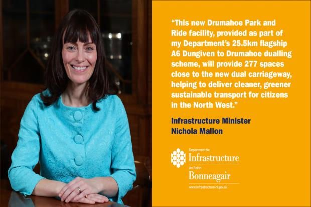 Drumahoe Park and Ride facility - image