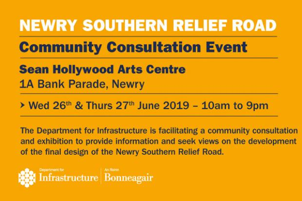Newry Southern Relief Road - Community Consultation June 2019
