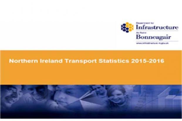 northen ireland transport statistics 2015-16