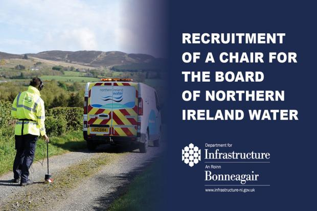 Appointment for Chair of NI Water 2020