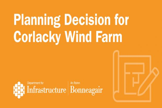 Image for Corlacky Wind Farm planning decision
