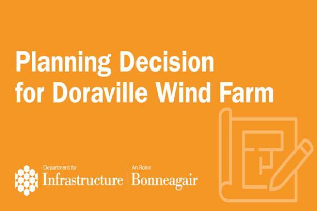 Image for planning decision on Doraville Wind Farm