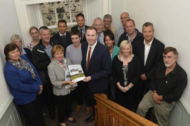 Minister Hazzard launches the Rathlin Island Action Plan