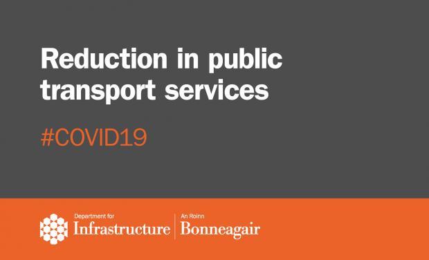 Reduced Public Transport - Graphic