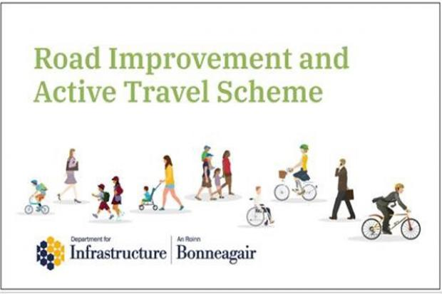 Road improvement and cycling facilities image