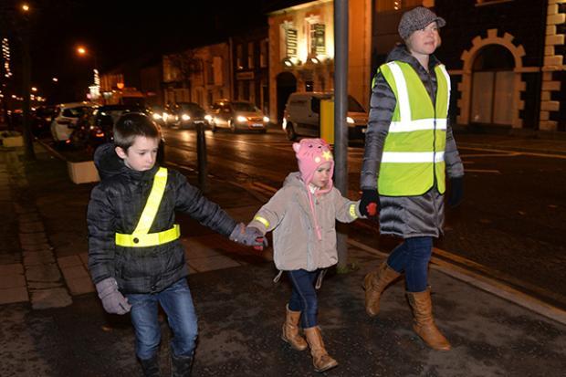 Road Safety - pedestrians at night