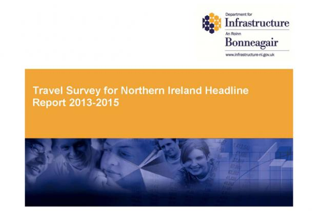 Travel Survey for Northern Ireland 2013-15