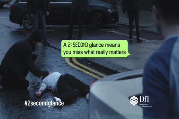 Two second glance campaign