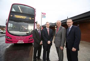 DRD Minister, Danny Kennedy MLA opens Dundonald Park and Ride facility